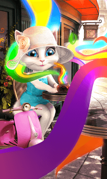 Talking Angela APK screenshot 1