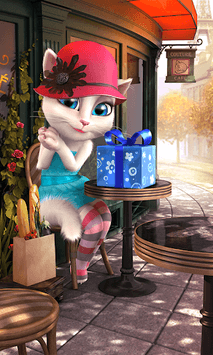 Talking Angela APK screenshot 2