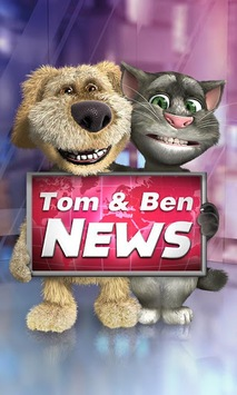 Talking Tom & Ben News APK screenshot 1