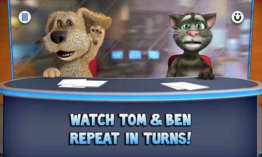 Talking Tom & Ben News APK screenshot 2