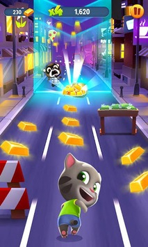 Talking Tom Gold Run APK screenshot 1