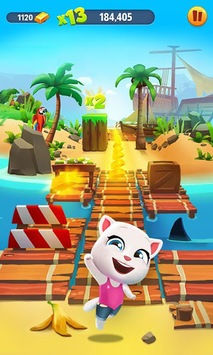 Talking Tom Gold Run APK screenshot 2