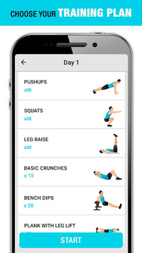 Weight Loss Workout for Men, Lose Weight - 30 Days APK
