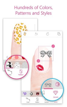 YouCam Nails - Manicure Salon for Custom Nail Art APK screenshot 1