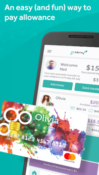 gohenry - the allowance app for young people APK screenshot 1