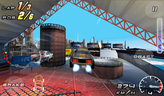 Raging Thunder 2 - FREE APK screenshot 1
