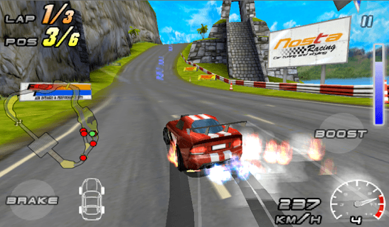 Raging Thunder 2 - FREE APK screenshot 2