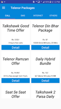 My Telenor Packages Free 2018 APK : Download v2 0 for
