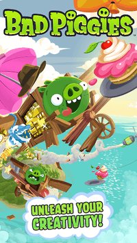 Bad Piggies HD APK screenshot 1