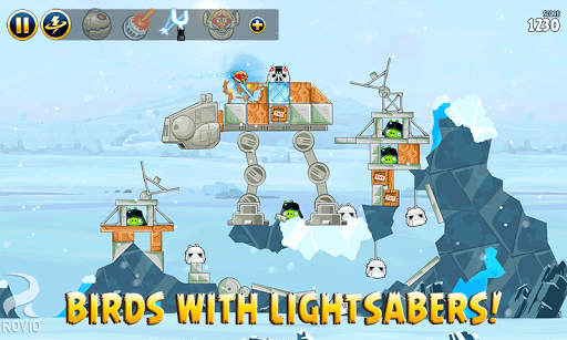 Angry Birds Star Wars APK screenshot 2