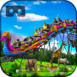 Safari Roller Coaster Ride VR APK icon