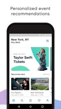 SeatGeek – Tickets to Sports, Concerts, Broadway APK screenshot 2
