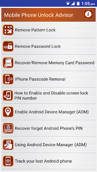 Clear Mobile Password PIN Help APK : Download v2 3 for