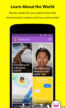 Snapchat APK : Download v10 47 5 0 for Android at AndroidCrew
