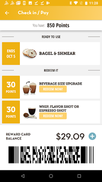 Einstein Bros Bagels APK screenshot 2