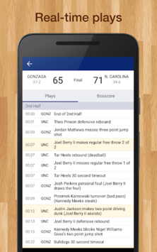 College Basketball Live Scores, Plays, & Schedules APK screenshot 2