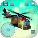 Gunship Craft: Crafting & Helicopter Flying Games APK icon