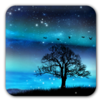 Aurora Free Live Wallpaper APK icon