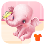 Cartoon Theme - Pink Elephant APK