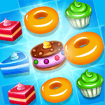 Pastry Mania : Addictive Match 3 Puzzles APK icon