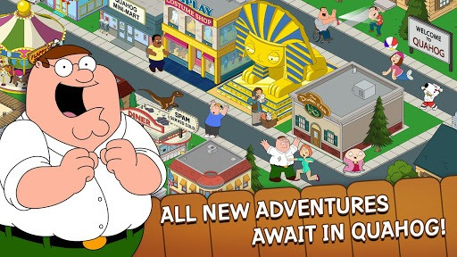 Family Guy The Quest for Stuff APK screenshot 1