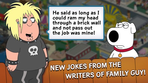 Family Guy The Quest for Stuff APK screenshot 2