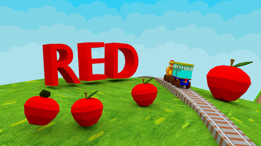 Learn Colors - 3D Train Game For Preschool Kids APK