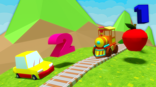 Learn Numbers 1 to 10 For Toddlers - 3D Train Game APK