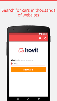 Used cars for sale - Trovit APK screenshot 1