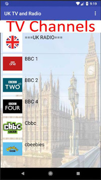 UK TV & Radio APK : Download v1 20 for Android at AndroidCrew