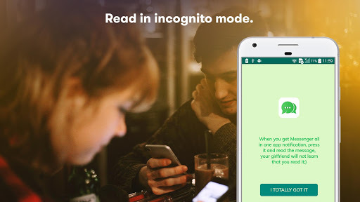 Mobile Messenger: All-in-one Chat, Hide Blue Ticks APK