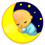 Baby Sleep: White noise lullabies for newborns APK icon