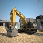 Real Construction Driving 3D APK icon