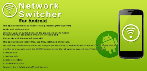 Network Switcher APK : Download v1 1 for Android at AndroidCrew