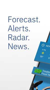 The Weather Channel: Local Forecast & Weather Maps APK screenshot 1