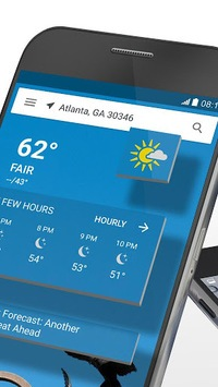 The Weather Channel: Local Forecast & Weather Maps APK screenshot 2
