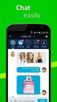 Meet4U - Chat, Love, Singles! APK screenshot 3