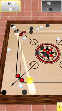 Carrom 3D APK screenshot 1