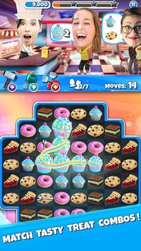 Crazy Kitchen: Match 3 Puzzles APK screenshot 1