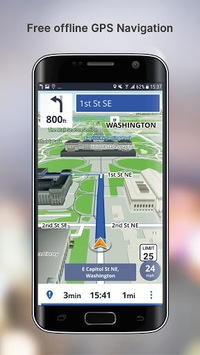 Free GPS Navigation APK screenshot 1
