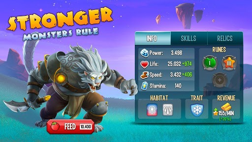 Monster Legends - RPG APK screenshot 1