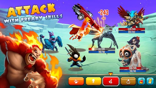Monster Legends - RPG APK screenshot 2