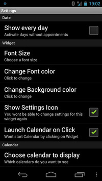 Simple Calendar Widget Free APK : Download v0 2 5 3 for Android at