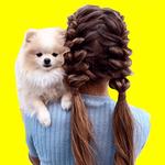 Cute hairstyles step by step APK icon