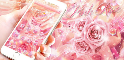 Pink Rose Diamond Theme Wallpaper Apk Download V1 1 3 For
