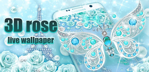 3D butterfly & rose live wallpaper theme APK : Download v2.2.0.2235 for Android at AndroidCrew