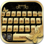 Golden Butterfly Keyboard APK