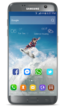 Launcher & Theme Samsung Galaxy S9 APK : Download v1 0 0 for