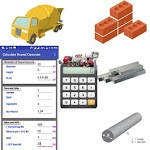 Construction Calculator(Concrete,Steel,Bricks etc) APK icon