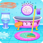 Princess Ice Castle Cleaning and Decoration APK icon
